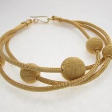 bracciale filigrana sarda dorato